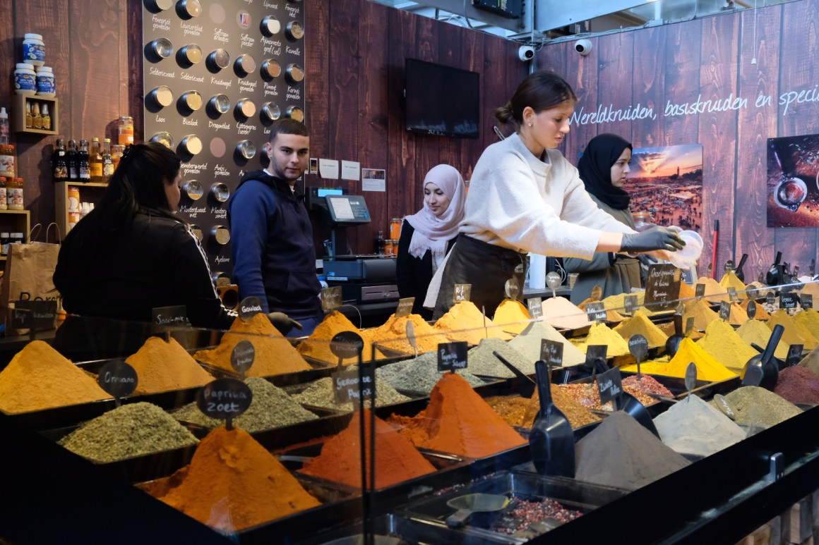A Weekend At Rotterdam - Spice Vendor in Markthal