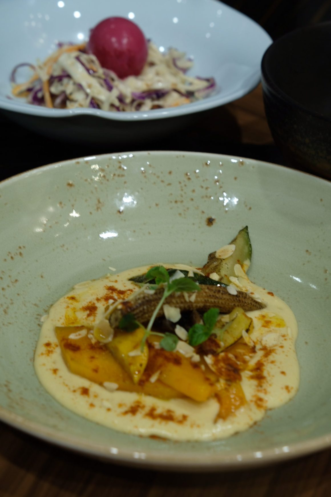 Porta Revamped Ala Carte Menu - Grilled Summer Vegetables with Hummus ($14)
