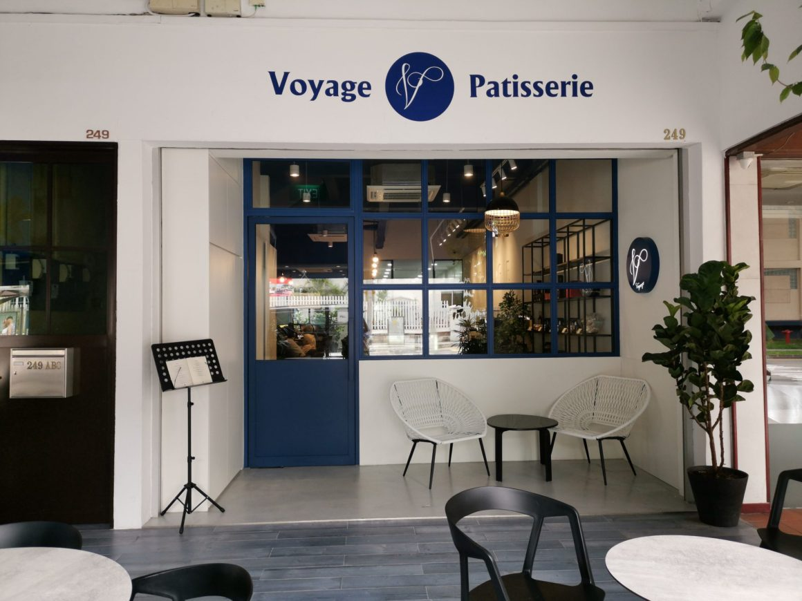 Voyage Patisserie At Outram Road, A French Patisserie - Facade