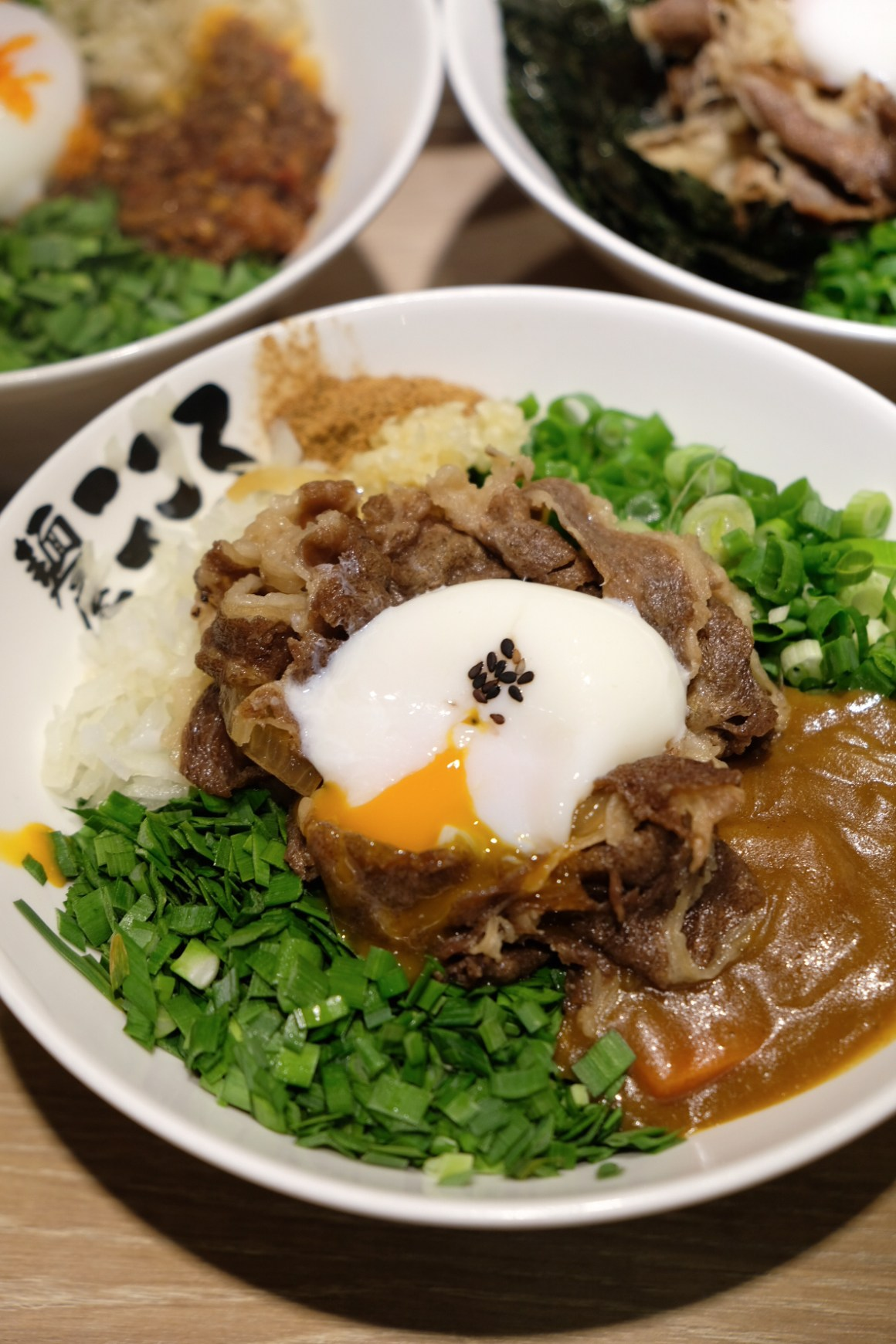 Menya Kokoro New Items - Curry Beef Maze Don ($15.80)