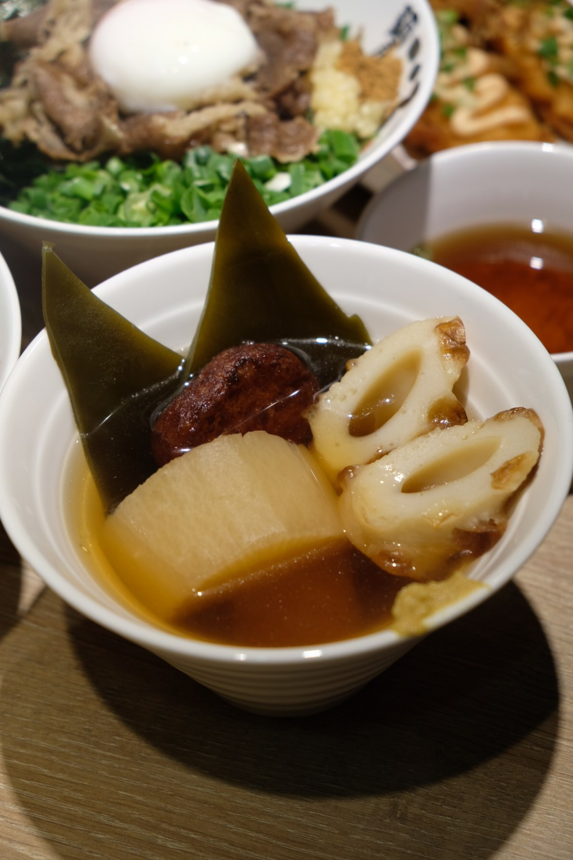 Menya Kokoro New Items - Oden ($4.80)