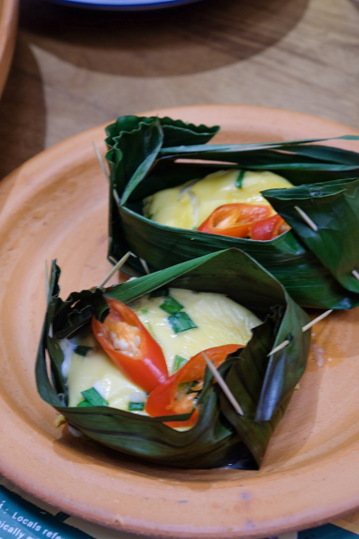 One Meal Around Thailand At Baan Ying Singapore - Khai Pam (Grilled Omelette)