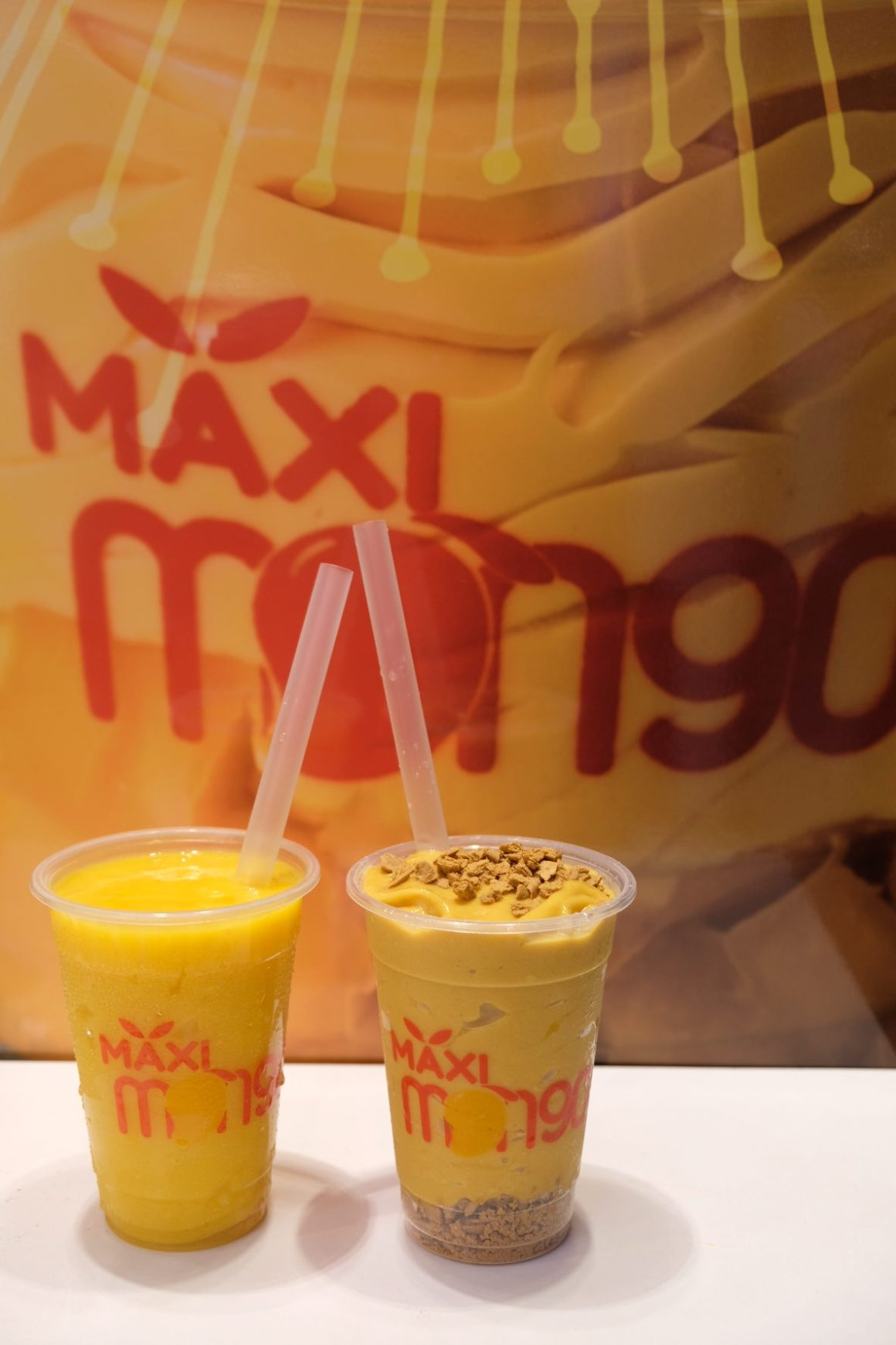 Maxi Mango, Philippines' Top Trending Mango Soft Serve At Capitol Piazza - Shake