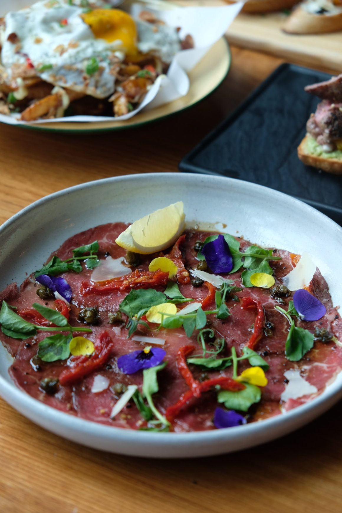 Supply & Demand Orchardgateway New Menu - Beef Carpaccio ($15)