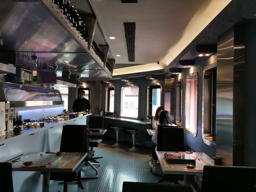 Sushi Airways, Dine In DC-3 Inspired Ambience - Interior
