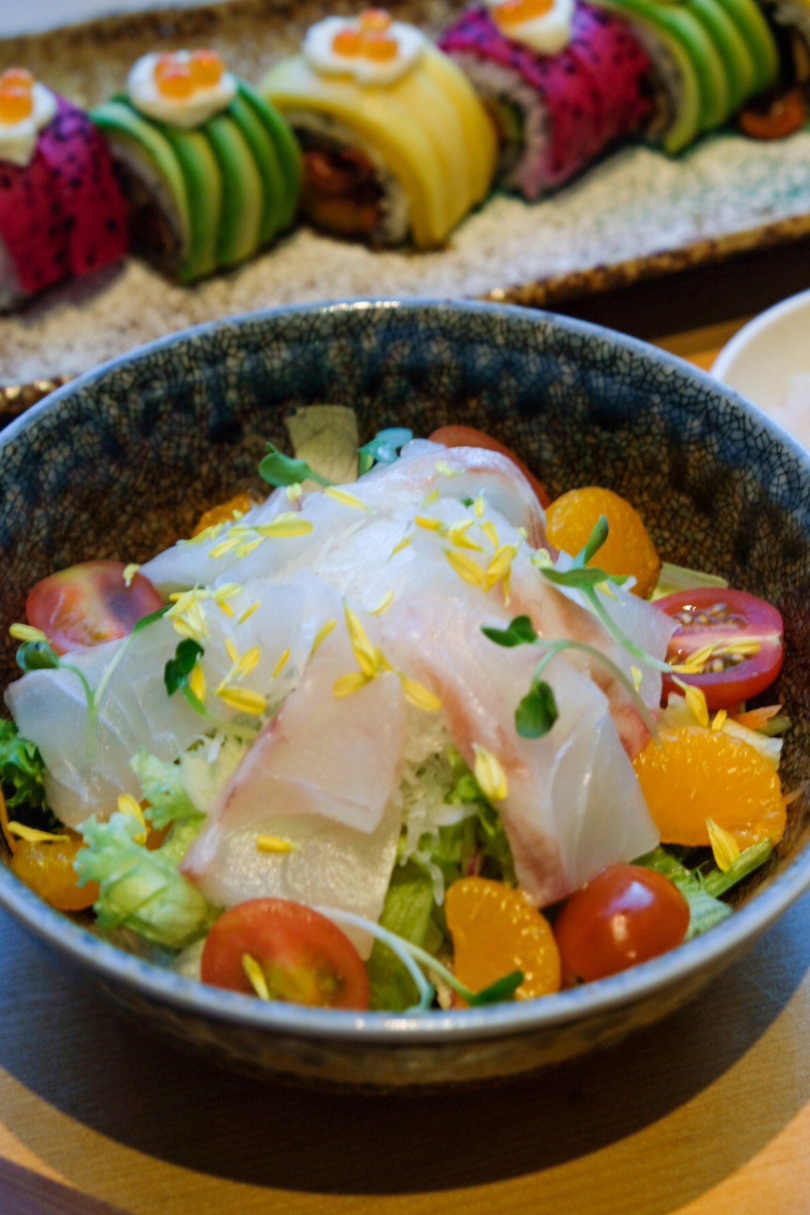 Sushi Tei's New Autumn Menu - Mikan Tai Salad ($15.90)
