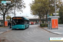 """Die """"Urbino 12""""-Busse von Alpina wechseln das Einsatzgebiet. Ab 11. Dezember 2016 ersetzen sie die störanfälligen Volvo-Busse im Linienbündel A."""