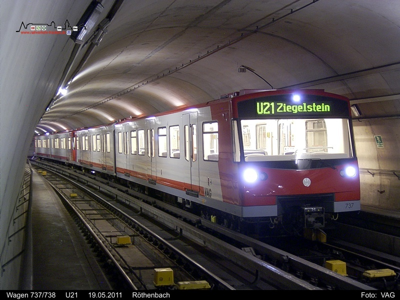 2011 U Bahn Bdm Archiv