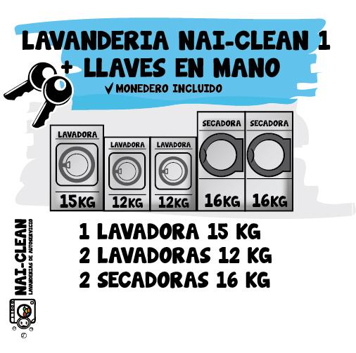 Instalación NAI-CLEAN 1 + llaves en mano