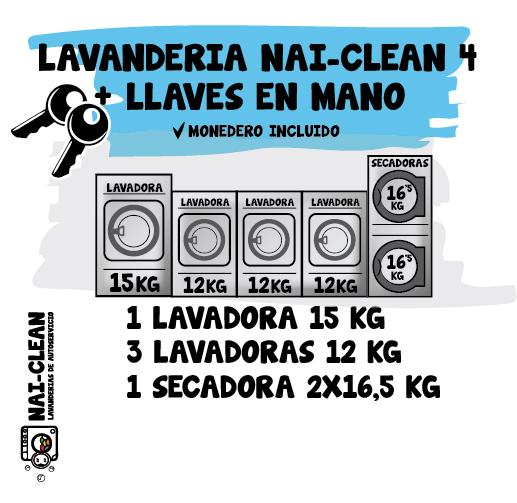 Instalación NAI-CLEAN 4 + llaves en mano