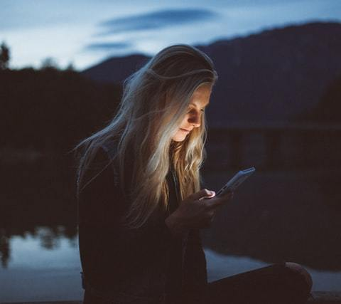 Texting at Night by Becca Tapert