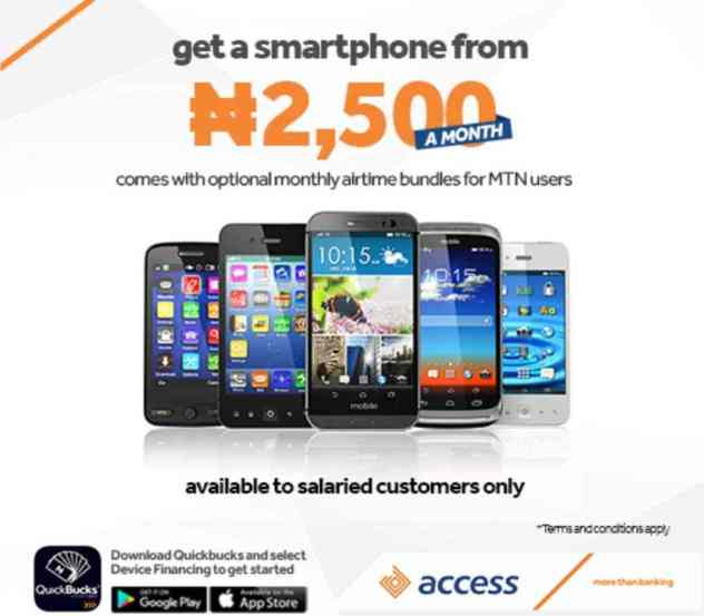 Access Bank deepens Nigeria financial inclusion with loan for smartphone purchase scheme
