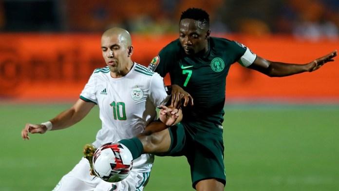 Algeria beats Nigeria 1-0 as African champions extend unbeaten run