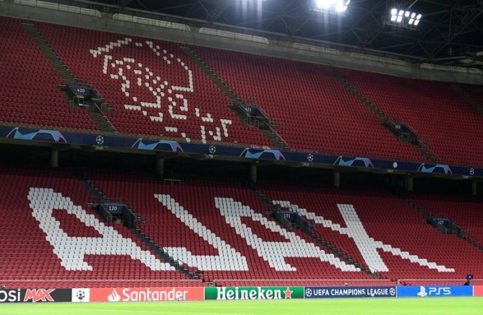 Ajax Amsterdam hit by COVID-19 outbreak on eve of Champions League game