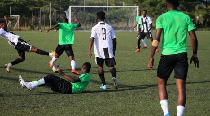 Flying Eagles beat Guards Brigade Team 4-1