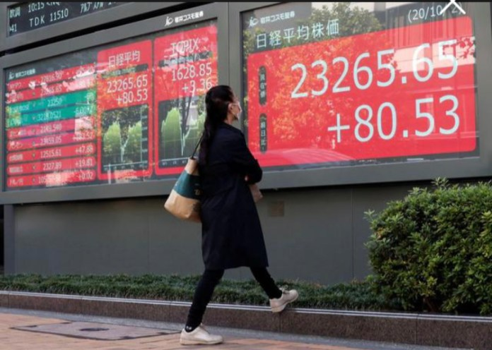 Asia stocks set for small gains as U.S. advances fiscal stimulus