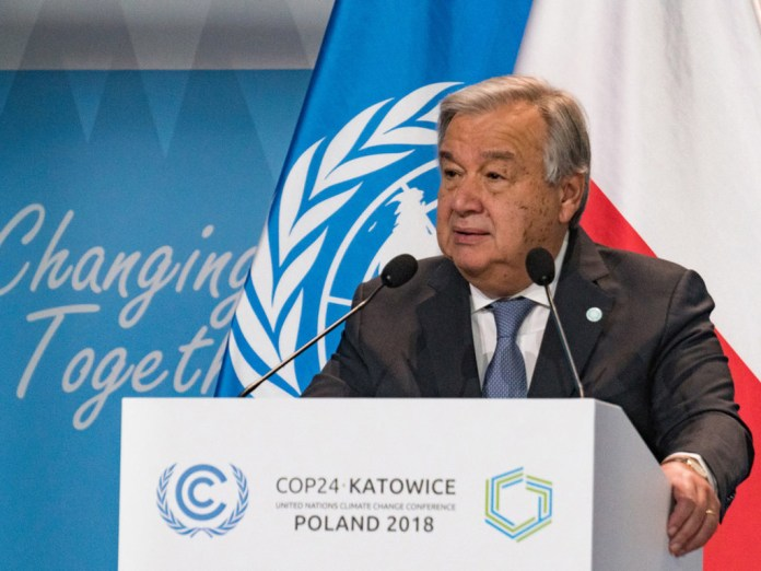 Climate change: Guterres renews call for $100bn for developing countries