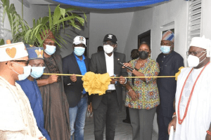 Sanwo-Olu inaugurates 84 housing units in Lekki Phase II