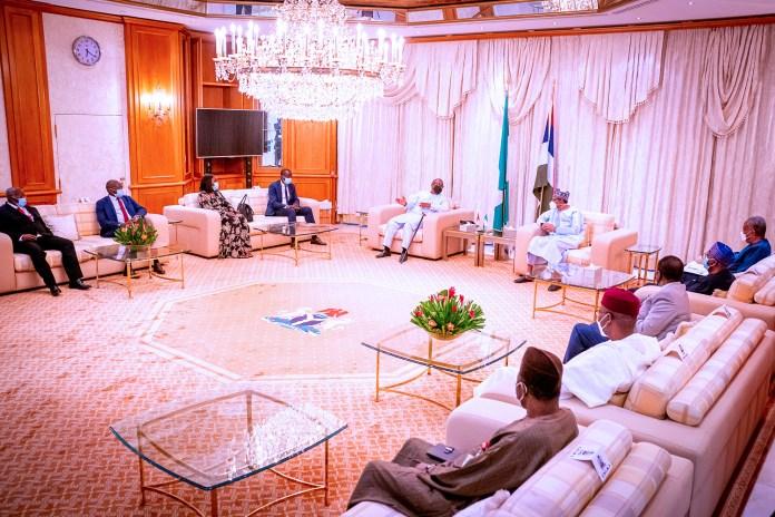 Buhari hosts President Embalo of Guinea Bissau to Ramadan dinner