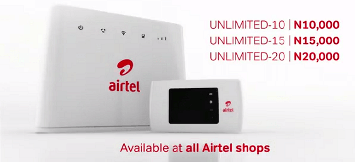Airtel unlimited 3g plans
