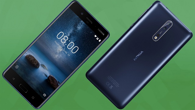 Nokia 8 Launched: Specifications, Features and Price Announced