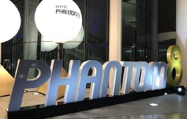 tecno phantom 8 launching