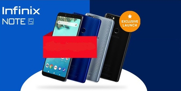 infinix note 5 colors