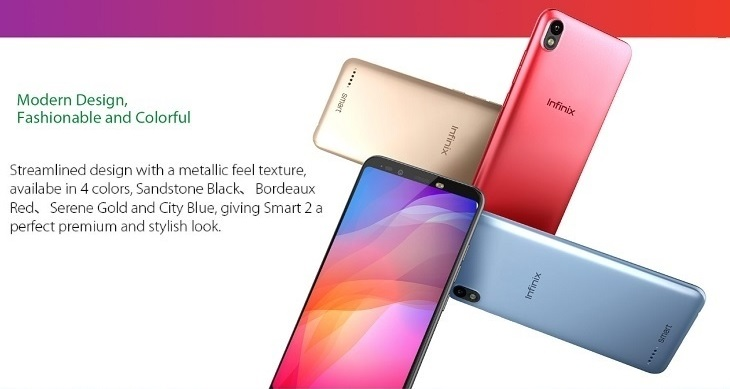 infinix smart 2 colors