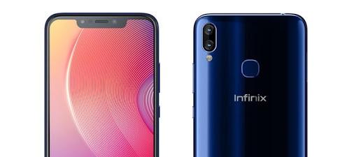 Infinix Hot S3X cameras