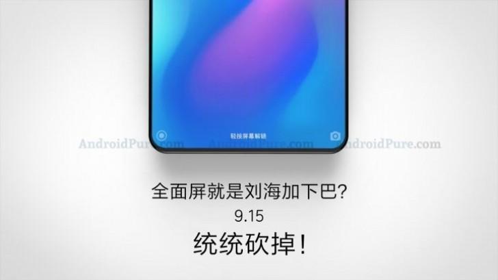 Xiaomi Mi Mix 3 poster