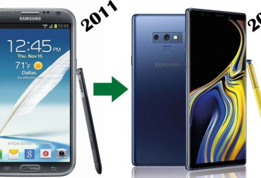 samsung galaxy note series evolution