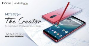 Infinix Launches The Note 5 Stylus, A Very Intelligent Smartphone