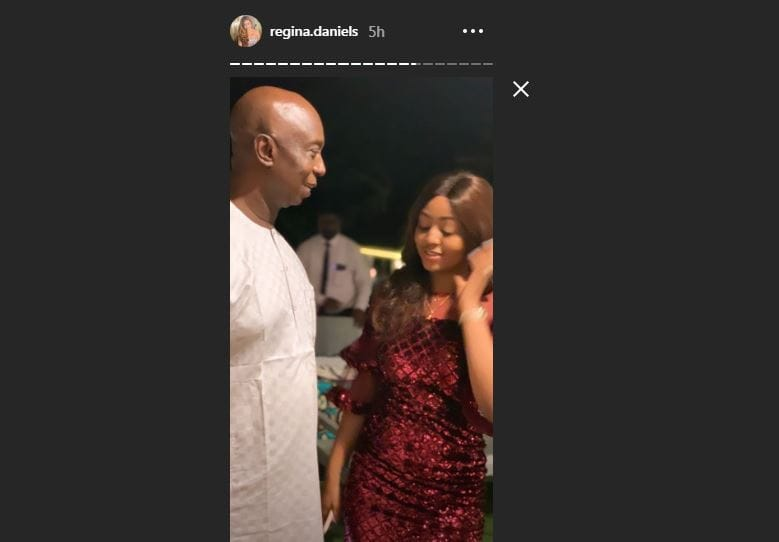 Regina Daniels shares new loved up photos with hubby Ned Nwoko