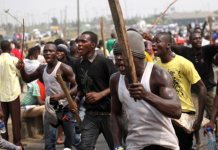 Unrest As Mob Allegedly Kills Policeman For 'shooting' Pregnant Woman Dead In Lagos