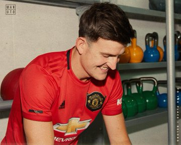 Harry Maguire officially unveiled by Man United following £80m move from Leicester