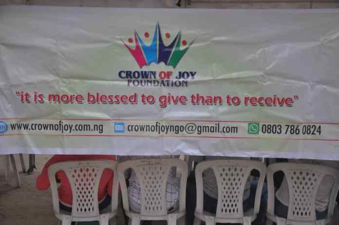 Crown of Joy Foundation, yet again organized its annual Christmas party