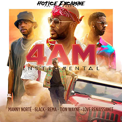 Manny Norte 4AM Ft 6lack Rema Tion Wayne Love Renaissance Freebeat mp3 download
