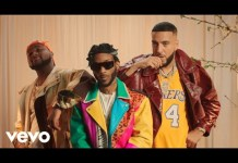 Angel Blessings REMIX ft French Montana Davido Video mp4 download