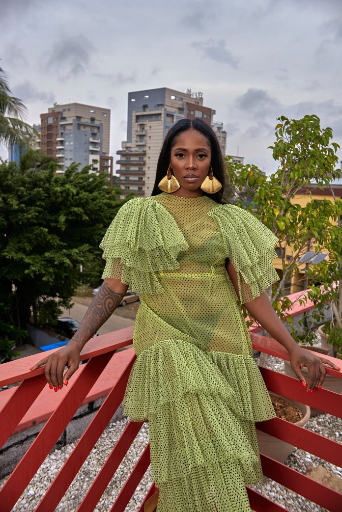 Tiwa Savage Bares It All As She Features In The Latest New York Times