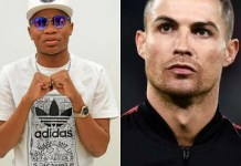 "Master KG Overjoyed as Cristiano Ronaldo vibes to ""Jerusalema'"