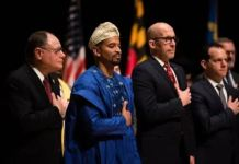 Nigerian Elected Into Public Office In U.S Wears Agbada To Inauguration