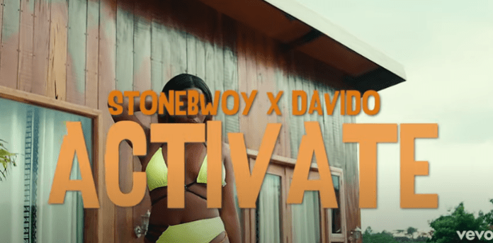 Stonebwoy Activate Ft Davido Video mp4 download