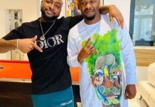 Zubby Michael visits Davido in his Banana Island mansion