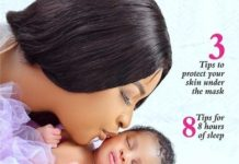 Actress Etinosa Unveils Her Daughter's Face, Name