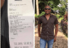 Ayo Fayose's brother, Isaac shares receipt of N500k seed he sowed in Pastor Fatoyinbo's church