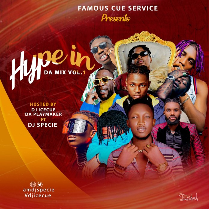 DJ Icecue & DJ specie Hype In Da Mix Vol 1 mp3 download