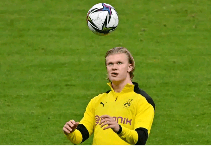 Erling Haaland Returned To Training After The Holidays