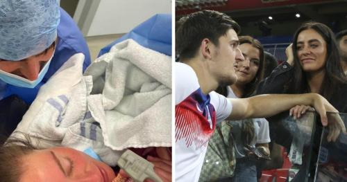 Harry Maguire announces birth of second child Piper Rose Maguire