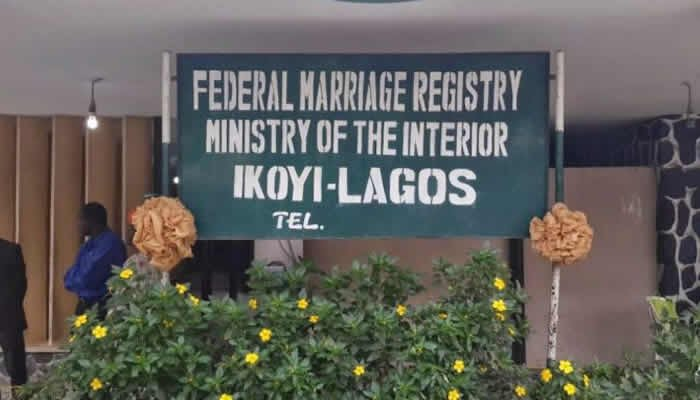 Ikoyi Marriage Registry