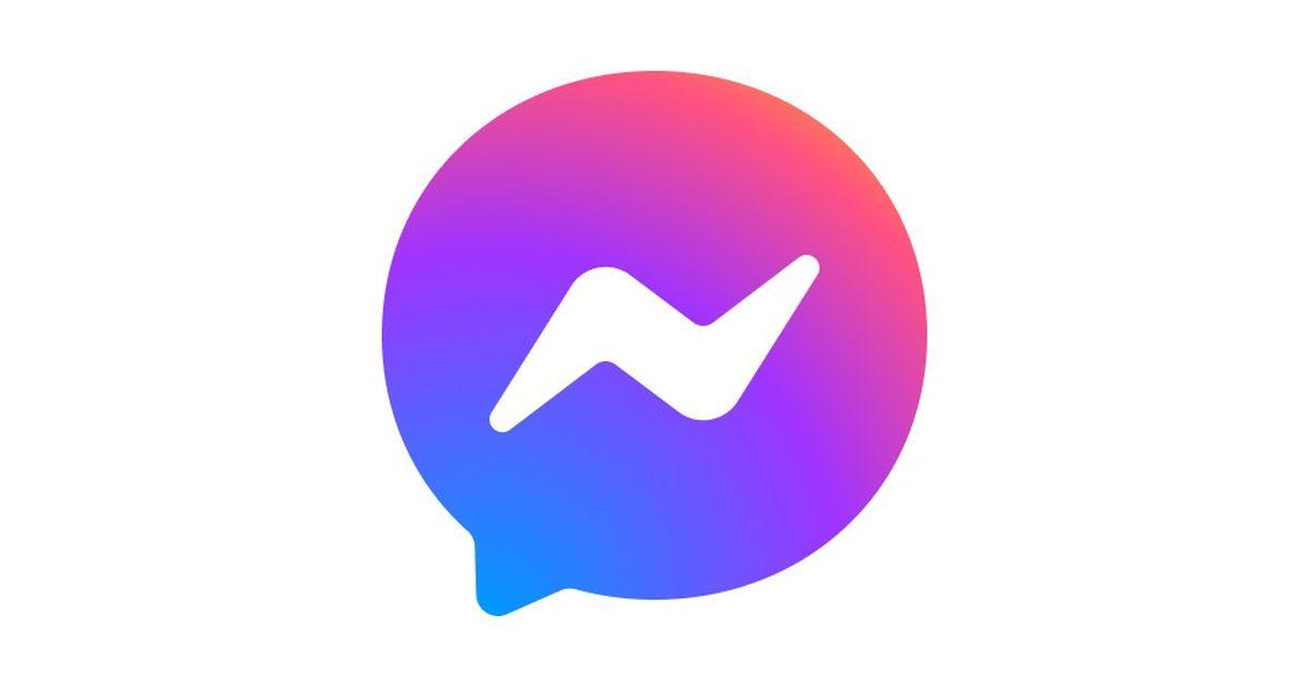 facebook messenger new logo